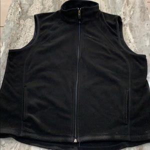 Champion fleece vest with pockets xl black